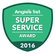 Angies List 2016 Super Service Award